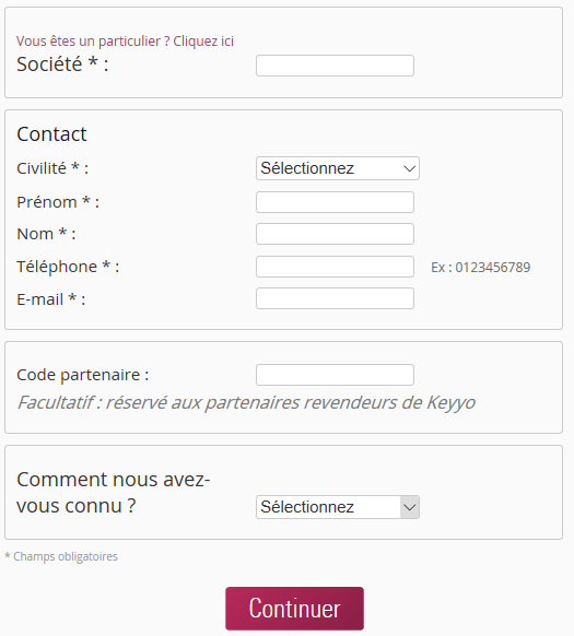 Keyyo_Manager_Install KPh pour PC_formulaire