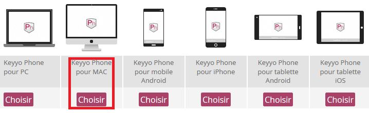 Keyyo_Manager_Install KPh pour Mac_Plateforme Mac